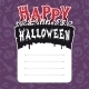 Happy Halloween Card with Text Box - GraphicRiver Item for Sale