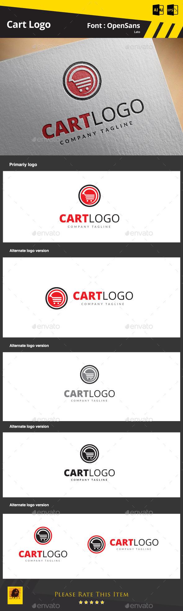 GraphicRiver Cart Logo 9178593