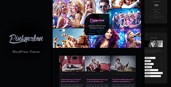 Pinkmalion HTML Template - Blog and Photography