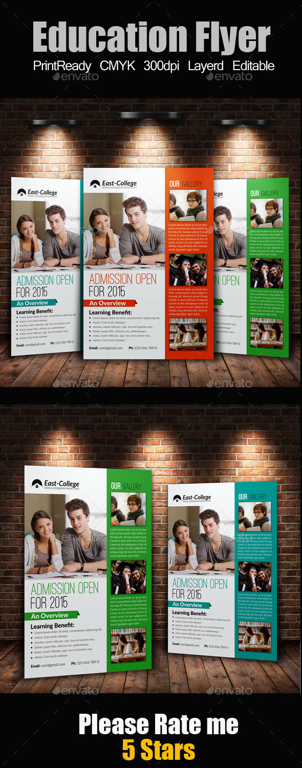 GraphicRiver A4 education Flyer 9178741