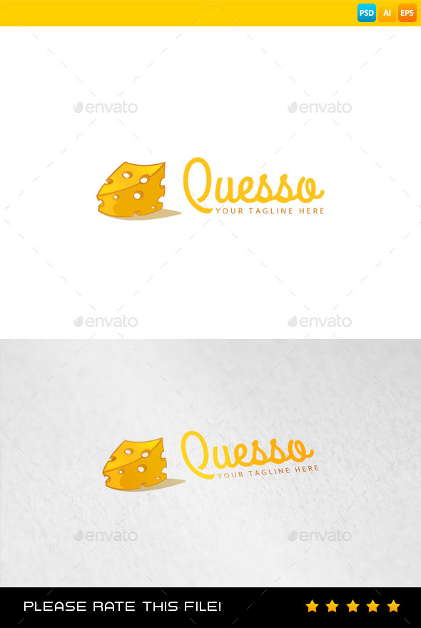 GraphicRiver Cheese Logo 9167813