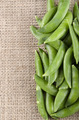 sugar snap peas on jute - PhotoDune Item for Sale