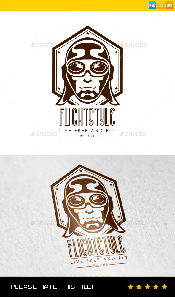 GraphicRiver Aviation Logo 9129712