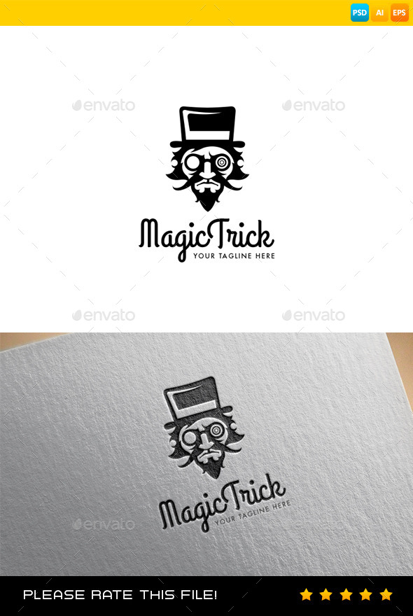 GraphicRiver Magic Logo 9128823