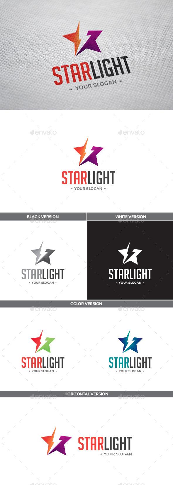 GraphicRiver Starlight Logo 9180240