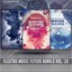 Electro Music Flyer Bundle Vol.19 - GraphicRiver Item for Sale