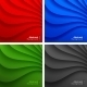 Set of Colorful Wavy Backgrounds. - GraphicRiver Item for Sale