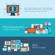Web Design Programming SEO Concept Flat Template - GraphicRiver Item for Sale