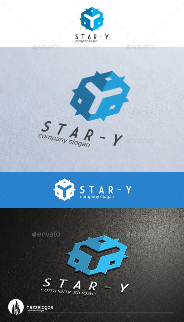 GraphicRiver Star Y Logo 9182907