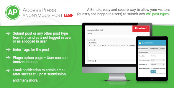 CodeCanyon AccessPress Anonymous Post Pro 9160446