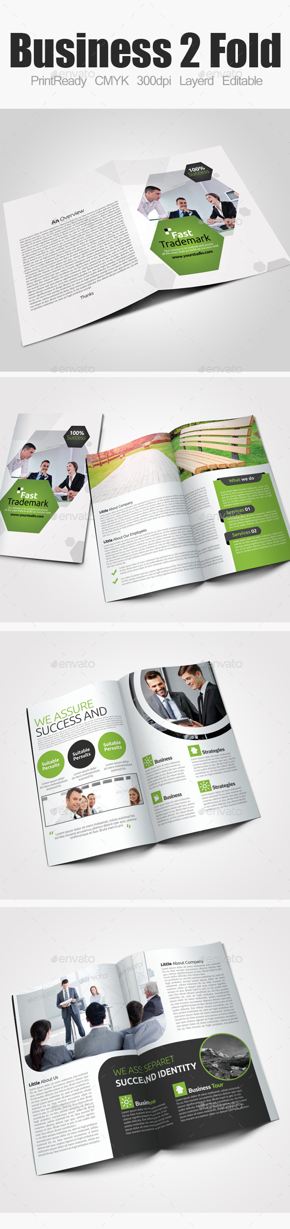GraphicRiver Bi Fold Business Brochure 9183032