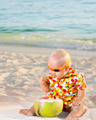 Baby with coconut - PhotoDune Item for Sale