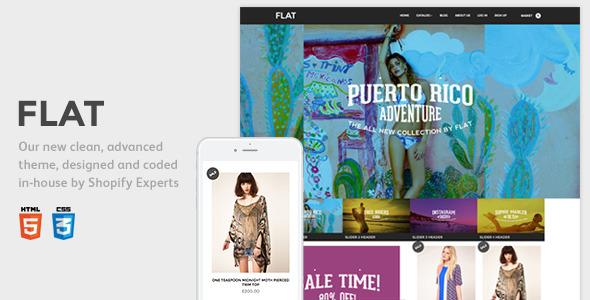 Flat Responsive Shopify Theme