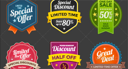 Black Friday & Cyber Monday 2015 Discounts and Sales Banner Collection