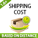Prestashop Shipping Cost Based on Distance