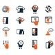 Business Icon Set. Software and Web Development