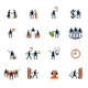 Business People Icons. Management, Human Resources - GraphicRiver Item for Sale