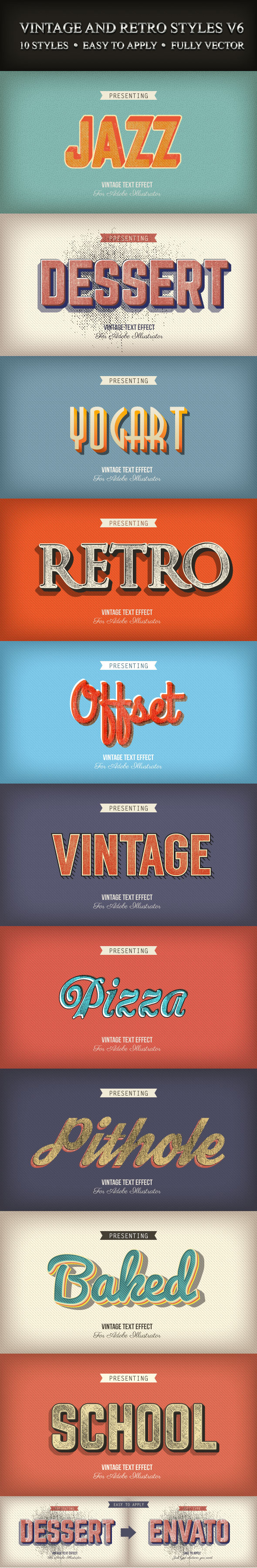 GraphicRiver Vintage and Retro Styles V6 9184160