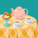 Tea Party Illustrations - GraphicRiver Item for Sale