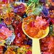 colorful sweet bears gummy closeup - PhotoDune Item for Sale