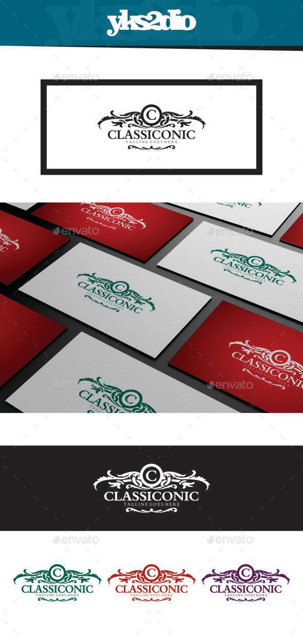 GraphicRiver Classico Royal Logo 9184900