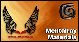 3DS Max MentalRay Materials