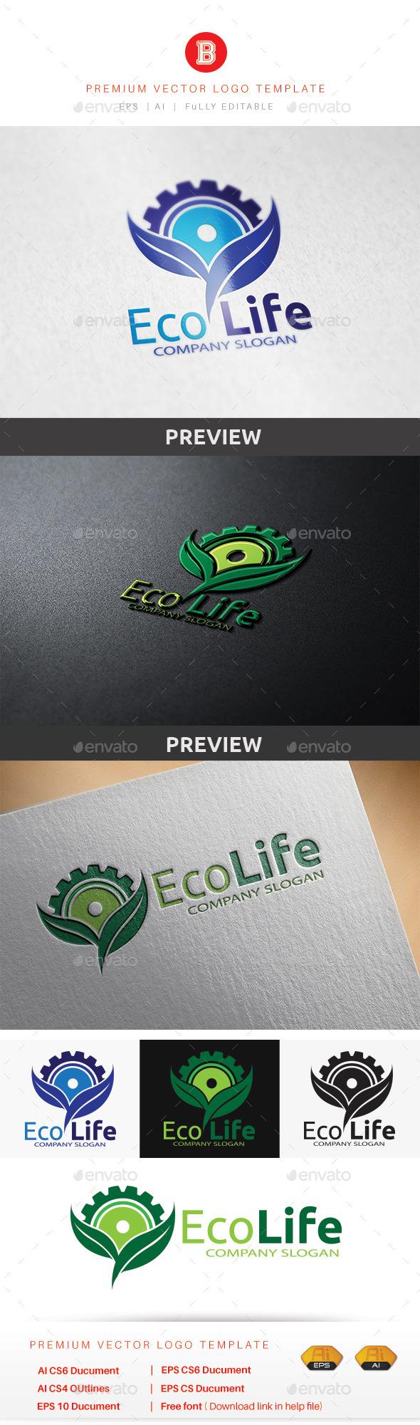GraphicRiver Eco Life 9185663