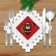 Christmas Napkin Table - GraphicRiver Item for Sale