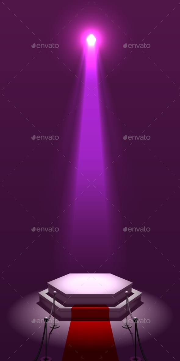 GraphicRiver Illuminated Stage 9186475