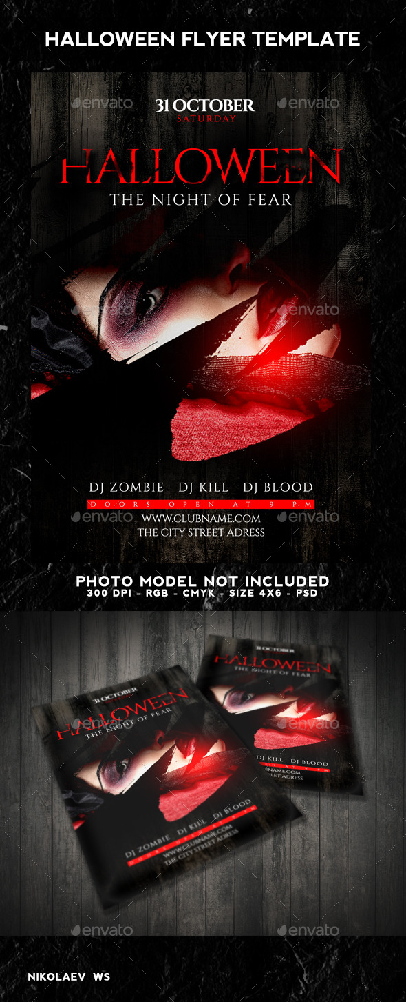 GraphicRiver Halloween Flyer 9154682