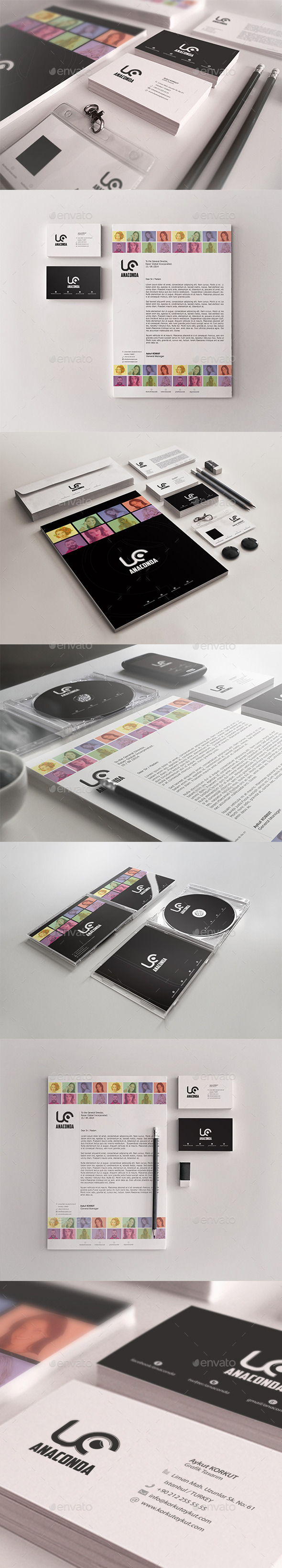 GraphicRiver Anaconda Corporate Identity Package 9186519