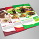 Restaurant Foods Flyer Template - GraphicRiver Item for Sale