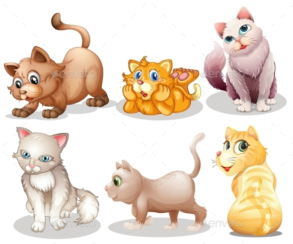 GraphicRiver Playful Cats 9188722