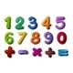 Numbers and Maths Symbols - GraphicRiver Item for Sale