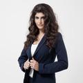 Beautiful Brunette Woman. Curly Long Hair. - PhotoDune Item for Sale