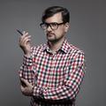 Handsome Hipster Modern Man. - PhotoDune Item for Sale