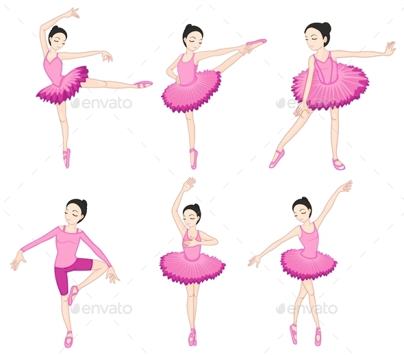 GraphicRiver Ballerina Set 9189282