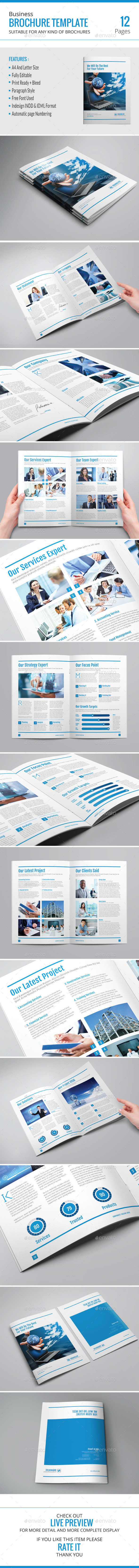 GraphicRiver Business Brochure Template 9189332