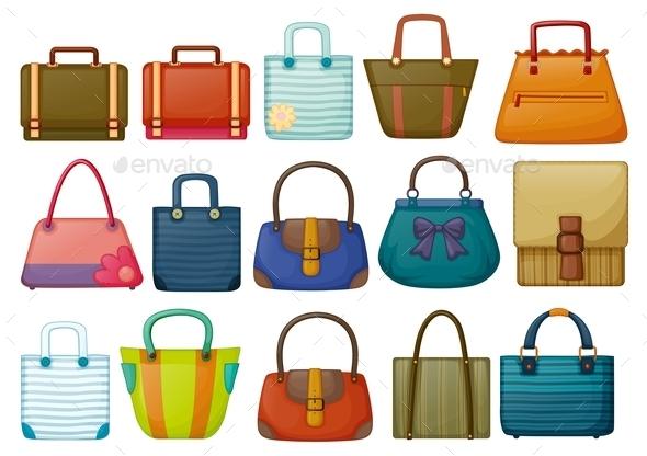 GraphicRiver Different Bag Designs 9189354