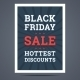 Black Friday Sale Poster. Vector Illustration. - GraphicRiver Item for Sale