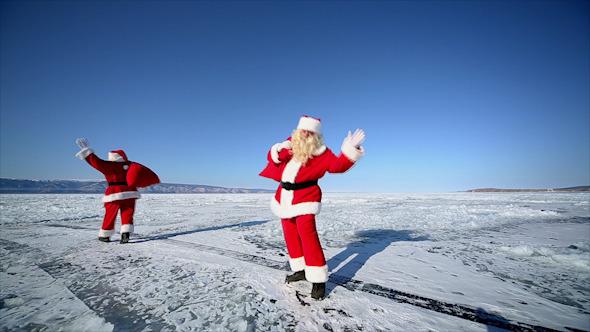 Travel Santa on Lake Baikal Looping
