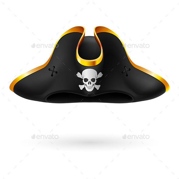 GraphicRiver Pirate Hat 9189815