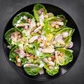Chicken Caesar Salad Overhead View - PhotoDune Item for Sale