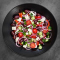 Greek Salad Overhead View - PhotoDune Item for Sale