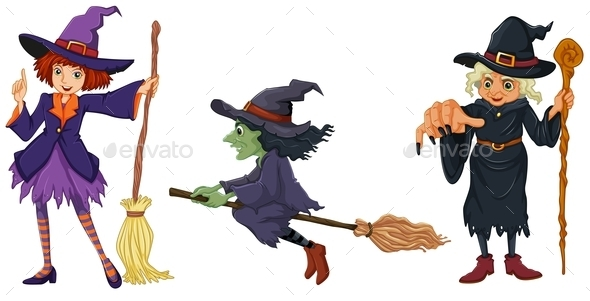 GraphicRiver Three Witches 9189856