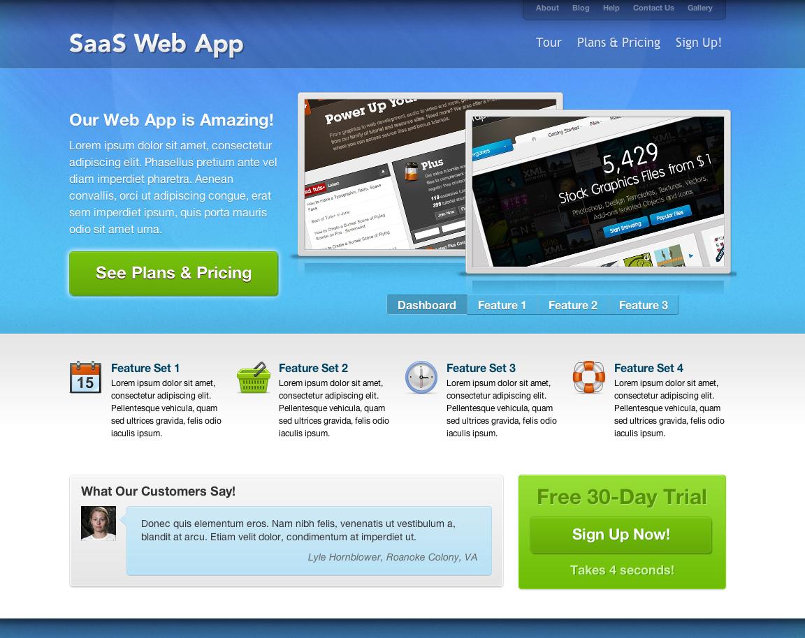 Freemium SaaS I HTML Theme