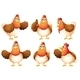 Six Chicken - GraphicRiver Item for Sale