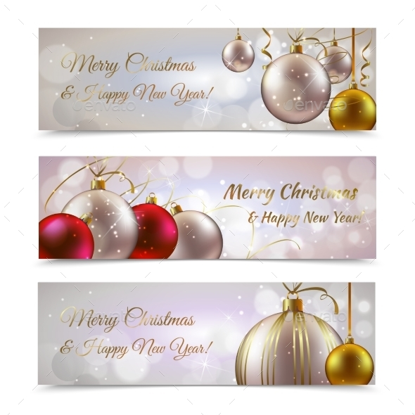GraphicRiver Christmas Banners Horizontal 9189974