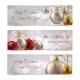 Christmas Banners Horizontal - GraphicRiver Item for Sale