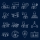 Business and Management Icons Outline - GraphicRiver Item for Sale